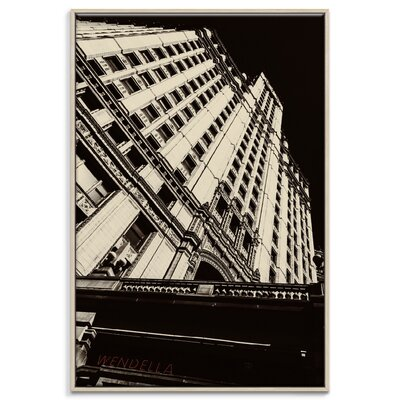 Artist Lane 'Wendella' by Andrew Paranavitana Framed Photographic Print on Wrapped Canvas