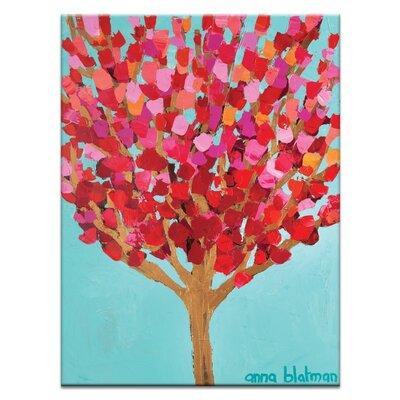 Artist Lane 'Charlotte's Tree' by Anna Blatman Art Print on Wrapped Canvas