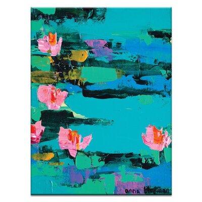 Artist Lane 'Imogen' by Anna Blatman Art Print on Wrapped Canvas