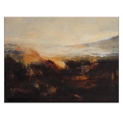 Artist Lane 'Sienna Ridge' by Lydia Ben-Natan Art Print on Wrapped Canvas