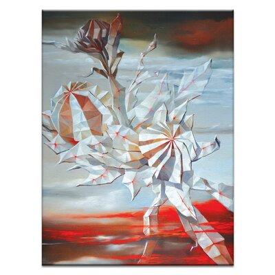 Artist Lane 'Waratah's Dreams' by Olena Kosenko Graphic Art Wrapped on Canvas