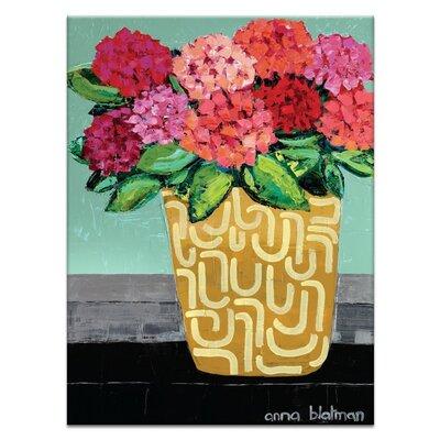 Artist Lane 'Patricia's Pot' by Anna Blatman Art Print on Wrapped Canvas