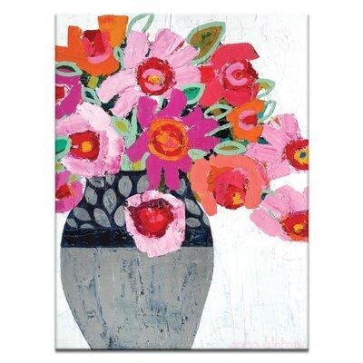 Artist Lane 'Fifi's Pot' by Anna Blatman Art Print Wrapped on Canvas