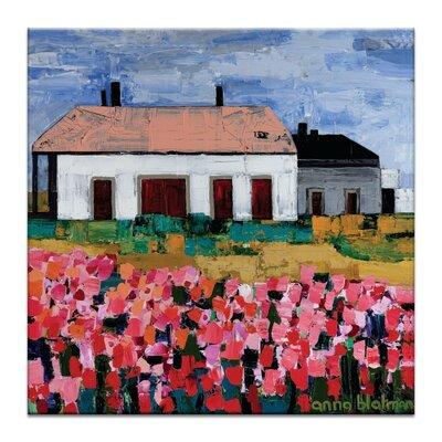 Artist Lane 'Marguerite's Manor' by Anna Blatman Art Print Wrapped on Canvas