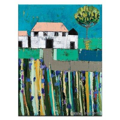 Artist Lane 'Allison Road' by Anna Blatman Art Print on Wrapped Canvas