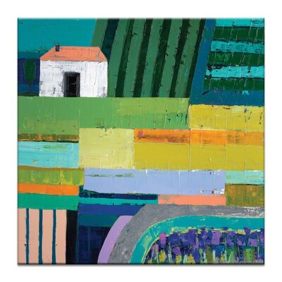 Artist Lane 'Elsternwick' by Anna Blatman Art Print Wrapped on Canvas