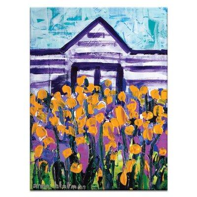 Artist Lane 'Robyn's Summerhouse' by Anna Blatman Art Print on Wrapped Canvas