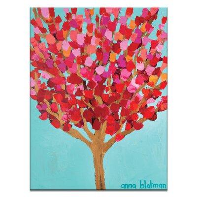 Artist Lane 'Charlotte's Tree' by Anna Blatman Framed Art Print on Wrapped Canvas