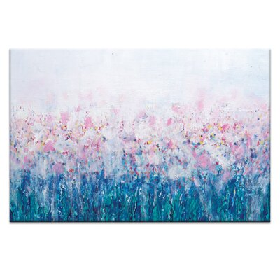 Artist Lane 'Lily's' by Brenda Meynell Art Print Wrapped on Canvas