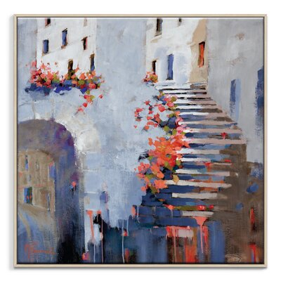 Artist Lane 'Let's Get Together' by Catherine Fitzgerald Art Print on Wrapped Canvas