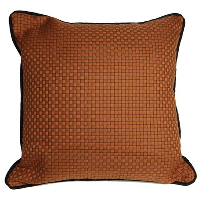 The Well Dressed Bed Basket Weaved Accent Throw Pillow