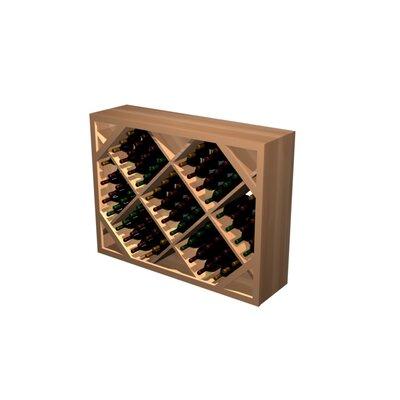 Designer Series 132 Bottle Floor Wine Rack Finish: Light, Wood Type: Prime Mahogany
