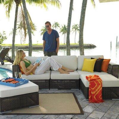 Hospitality Rattan Soho 5 Piece Deep Seating Group with Cushion