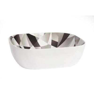 Olea Ceramic Rectangular Vessel Bathroom Sink