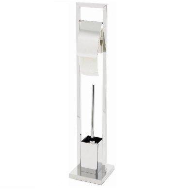 Etol Design AB Free Standing Toilet Roll and Brush Holder
