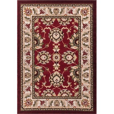 Well Woven Dulcet Alana Red/Beige Area Rug