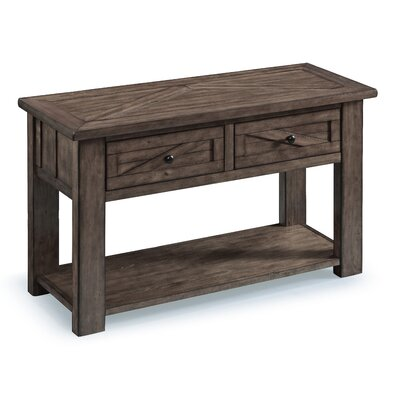 Waycross Console Table Color: Weathered Charcoal