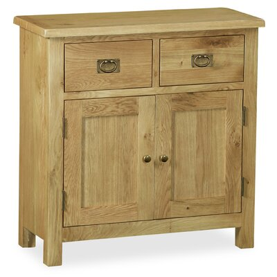 Alpen Home Benjamin Petite 2 Door 2 Drawer Sideboard