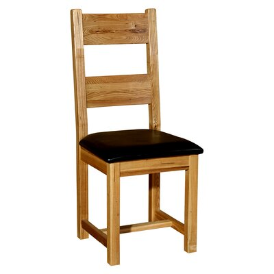 Alpen Home Oak Puerco Corral Ladder Back Dining Chair