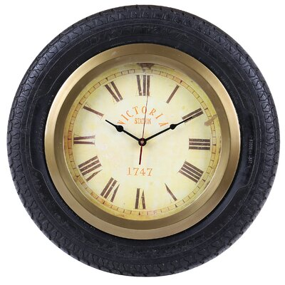 House Additions 20 cm Cliff Tyre Clock