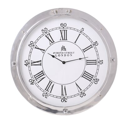 House Additions 30 cm Hart Porthole Clock