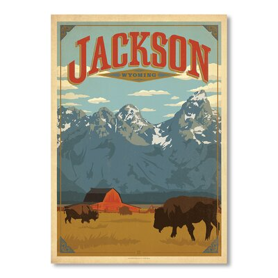 Alpen Home Jackson by Anderson Graphic Art Wrapped on Canvas