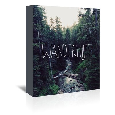 Alpen Home Wanderlust Graphic Art Wrapped on Canvas