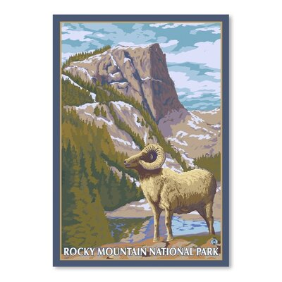 Alpen Home Redcloud 11258 Graphic Art Wrapped on Canvas