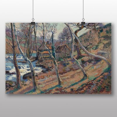 Alpen Home The Trees by Camille Pissaro Art Print