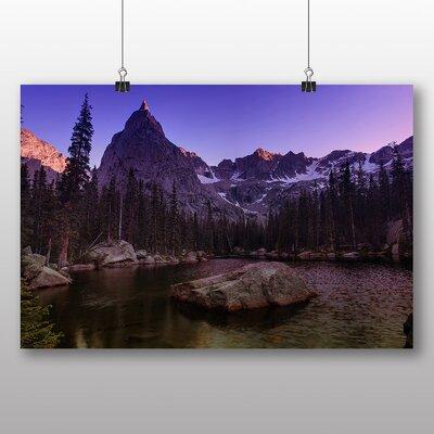 Alpen Home Eagle Peak Photographic Print on Canvas