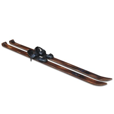 Alpen Home Castle Hill Ski Pair Decorative Skis