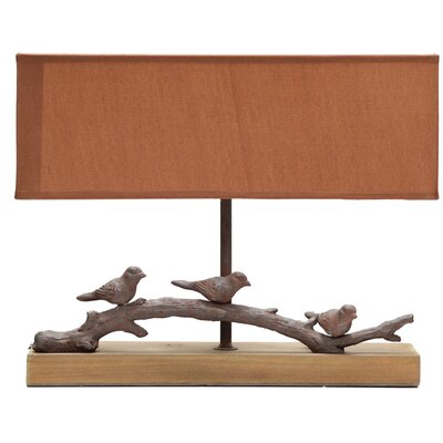 Alpen Home Dacono Wood 27cm Table Lamp