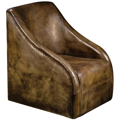 Alpen Home Crestone Leather Arm Chair