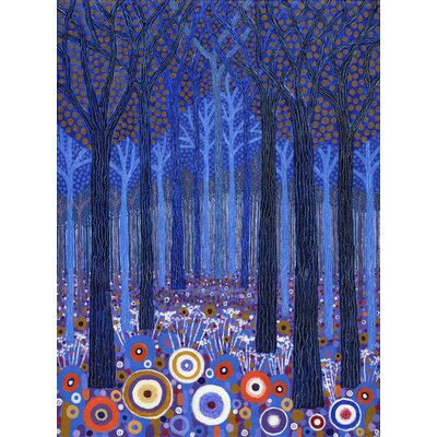 Alpen Home Blue Forest by David Newton Graphic Art