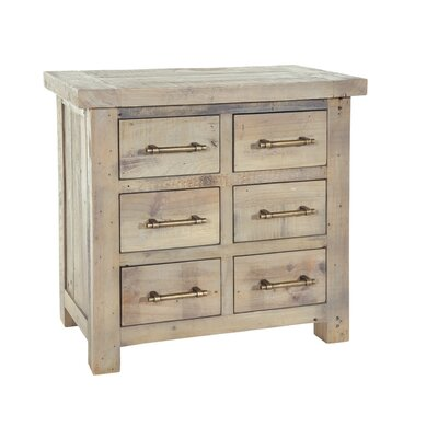 Alpen Home Bearpaw 6 Drawer Chest