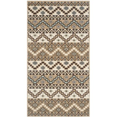 Alpen Home Pryor Creek Brown/Cream Indoor/Outdoor Area Rug
