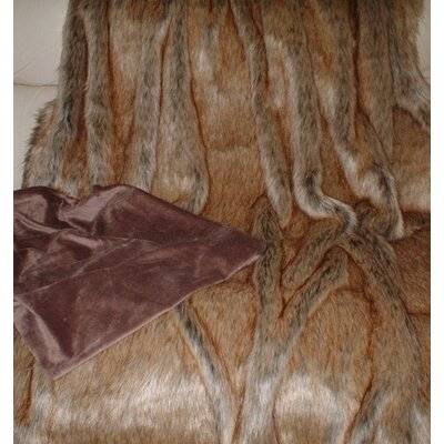 Alpen Home Hamlin Husky Throw with Cuddle Soft Velboa