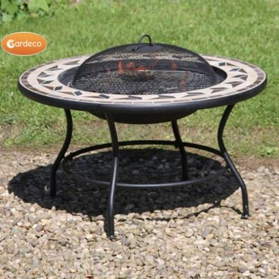 Alpen Home Campbell Hill Steel Fire Pit