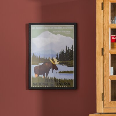 Alpen Home Mount McKinley Graphic Art Wrapped on Canvas
