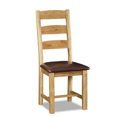 Alpen Home Plevna Solid Oak Upholstered Dining Chair