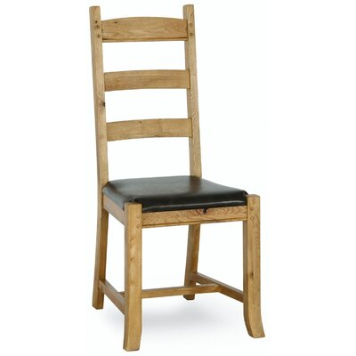 Alpen Home Oceaner Solid Oak Upholstered Dining Chair