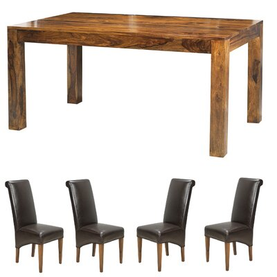 Heritage Furniture Dining Table and 4 Chairs
