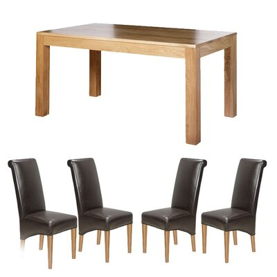 Prestington Dining Table and 4 Chairs