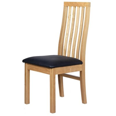 Prestington Solid Oak Upholstered Dining Chair