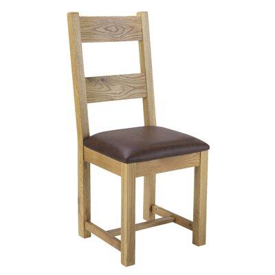Prestington Solid Oak Upholstered Dining Chair