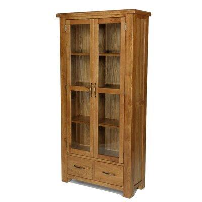 Prestington Columbia Solid Oak Display Cabinet