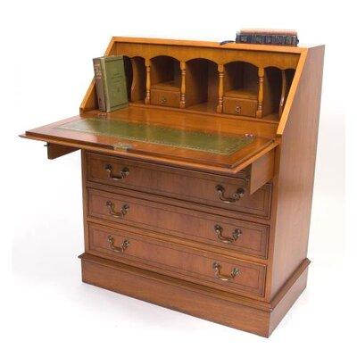 Prestington Classic 4 Drawer Bureau Desk
