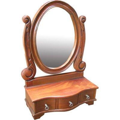 Prestington Oval Dressing Table Mirror