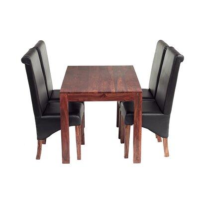 Prestington Peyton Dining Table and 4 Chairs
