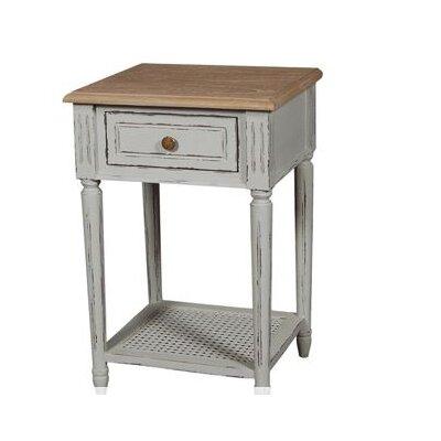 Prestington Valerie 1 Drawer Bedside Table